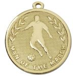 Man of the Match Medal 45mm AM1036